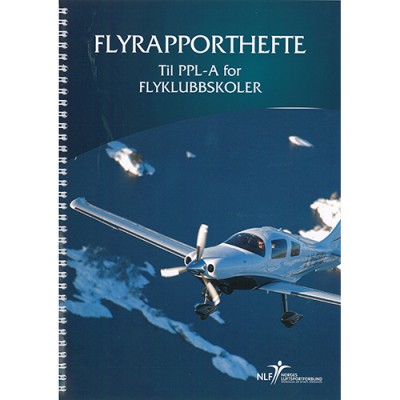 Flyrapporthefte PPL-A for klubbskoler
