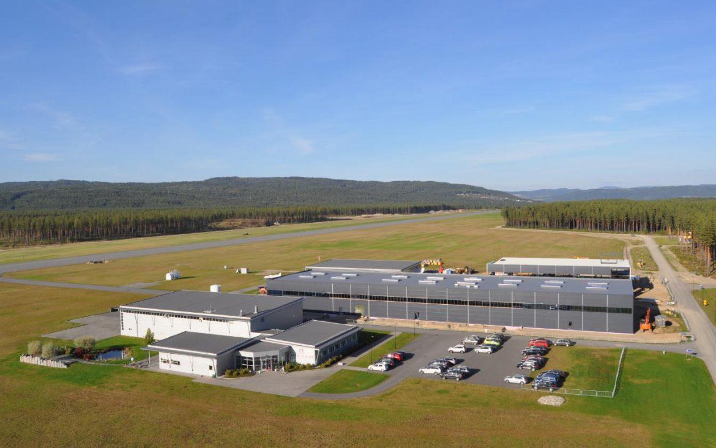 Ny flygetreningsbase åpner 9. januar 2017 på Eggemoen