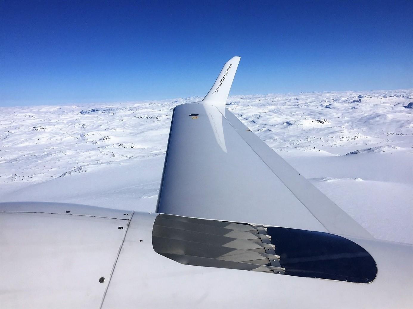 LN-LFS over Hardangerjøkulen